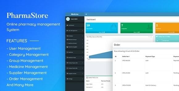 PharmaStore Online Pharmacy Management System