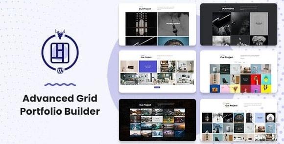 Advanced Grid Portfolio Builder WordPress Plugin