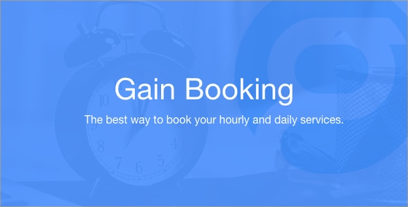 Gain Booking Nulled PHP Script Download