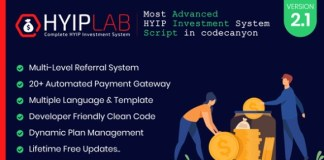 Hyiplab Complete Hyip Investment System Nulled Script