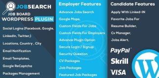 JobSearch WP Job Board WordPress Plugin Download