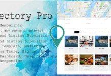 Directory Pro Nulled WordPress Plugin