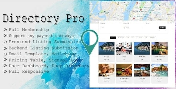 Directory Pro Nulled WordPress Plugin