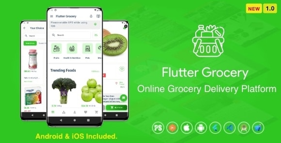 Flutter Multi Vendor Grocery App Source Code Download