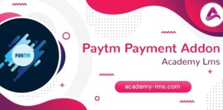 Academy LMS Paytm Payment Addon Download