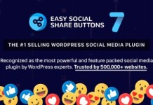 Easy Social Share Buttons for WordPress Plugin Download