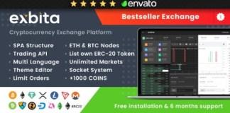 Exbita Cryptocurrency Exchange Script Nulled Download