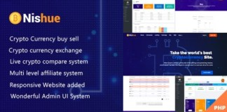 Nishue CryptoCurrency Buy Sell Exchange and Lending with MLM System Software
