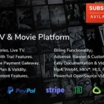 OVOO Live TV and Movie Portal CMS with Membership System Nulled