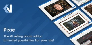 Pixie Image Editor Nulled PHP Script
