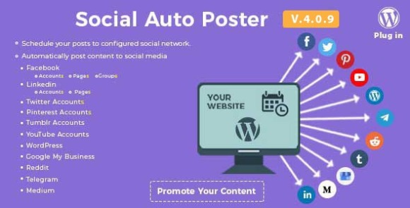Social Auto Poster WordPress Plugin Download