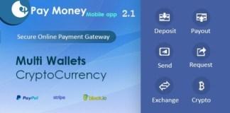 PayMoney Mobile App Source Code Download