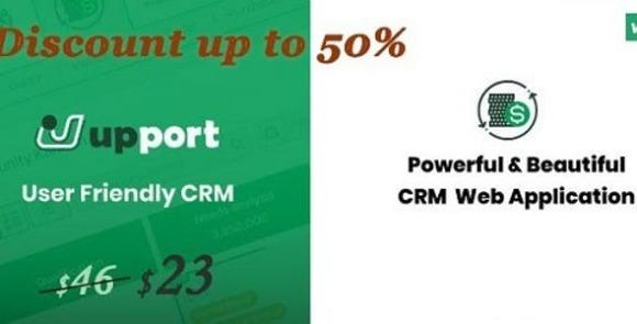 Laravel CRM Open Source CRM Web Application Upport CRM Script
