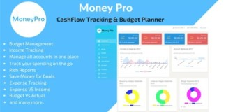 Money Pro Cashflow and Budgeting Manager PHP Script