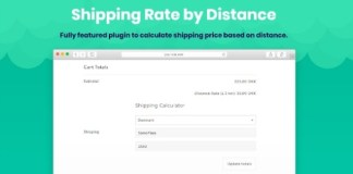 Shipping Rate By Distance for WooCommerce WordPress Plugin