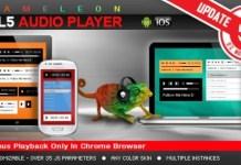 Chameleon HTML5 Audio Player Download