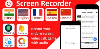 Screen Recorder Pro with Audio Android App Source Code