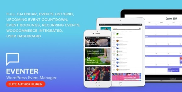 Eventer WordPress Event and Booking Manager Plugin