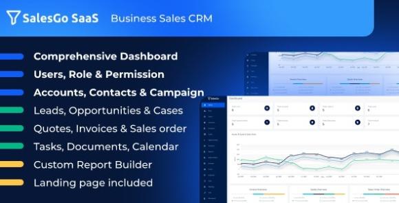 SalesGo SaaS Business Sales CRM Script