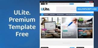 UltraLite Premium Blogger Template