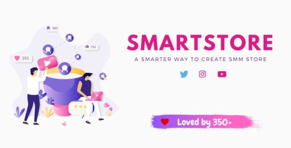 Smart Store - SMM Store PHP Script