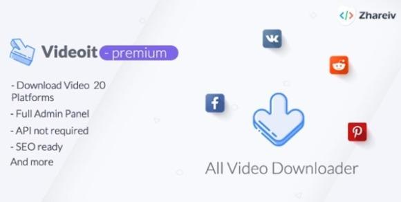 Videoit All Video Downloader PHP Script
