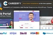 Careerfy Job Board WordPress Theme Nulled