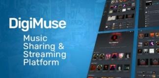 DigiMuse Music Streaming Platform PHP Script