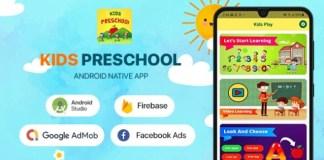 Kids Preschool Android App Source Code