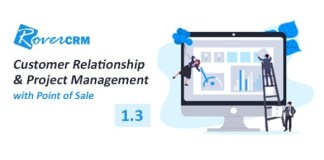 RoverCRM Customer Relationship And Project Management System Nulled