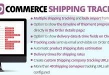 WooCommerce Shipping Tracking WordPress Plugin