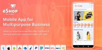 eShop Flutter E-commerce Full App Source Code