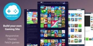 CloudArcade HTML5 Web Game Portal CMS Script
