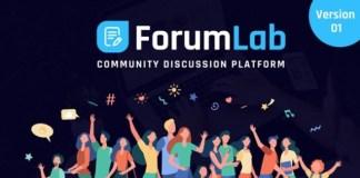 ForumLab Community Discussion Platform Nulled Script