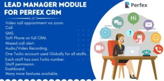 Lead Manager Module for Perfex CRM Nulled Addon