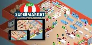 Tap Supermarket HTML5 Game Source Code