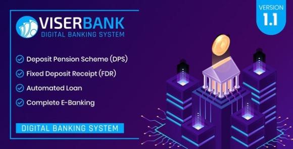 ViserBank Digital Banking System PHP Script