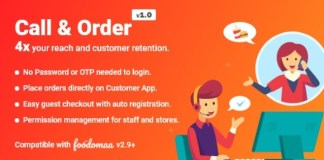 Call and Order Module for Foodomaa Addon