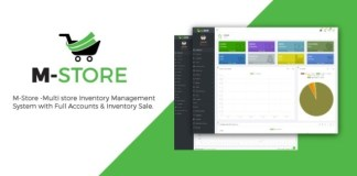 M-Store Multi-Store Inventory Management System with Full Accounts and Installment Sale Nulled Script