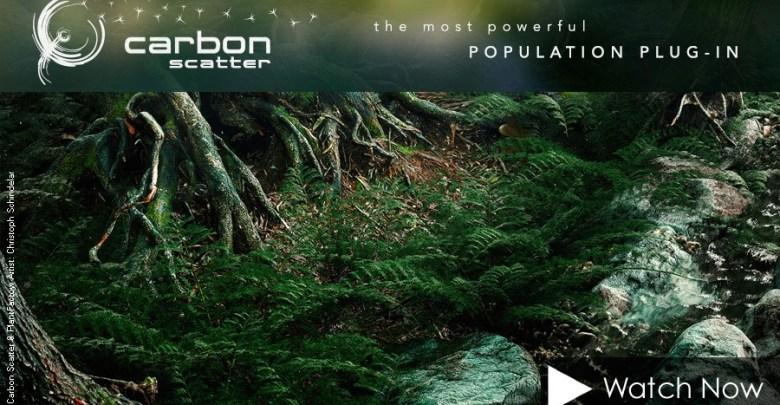 Carbon Scatter 2015 5 For Cinema 4d R14,15,16 3ds Max/Maya - NullPk