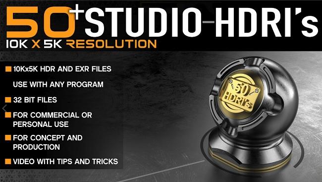 Gumroad – 50+ High Quality Studio HDRI Pack - NullPk | Digital Platform