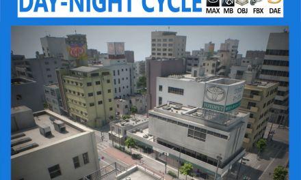 Japan 4 Blocks Set-2 3D model