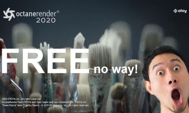 Octane Render 2020 Free Download For Blender / Daz Sutdio / Unity / Unreal engine