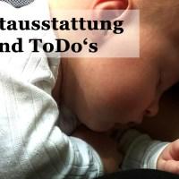 Entspannt aufs Baby vorbereiten: Meine Bucket List {Mit Erstausstattung zum Download}