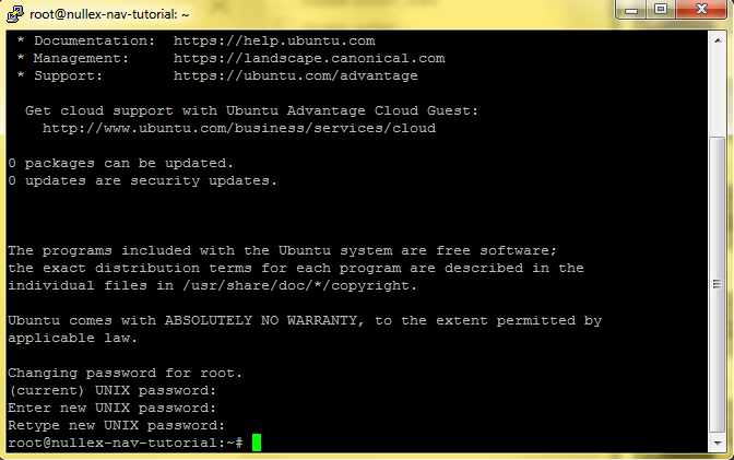 nullex nav setup 2