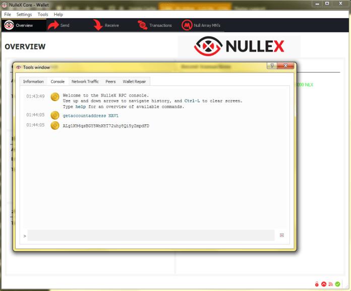 nullex nlx nav setup 4