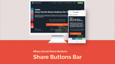 How to Set Share Buttons Bar on Mobile 4
