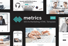 Download Free Metrics Business HTML Template 1.1 12