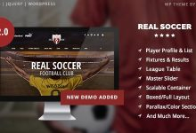 Real Soccer v2.10 – Sport Clubs Responsive WP Theme 11
