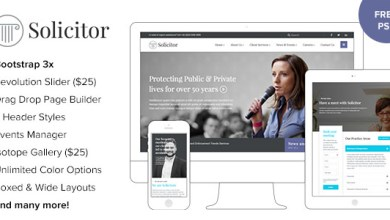 Solicitor v1.3 – Law Business Responsive WordPress Theme 7